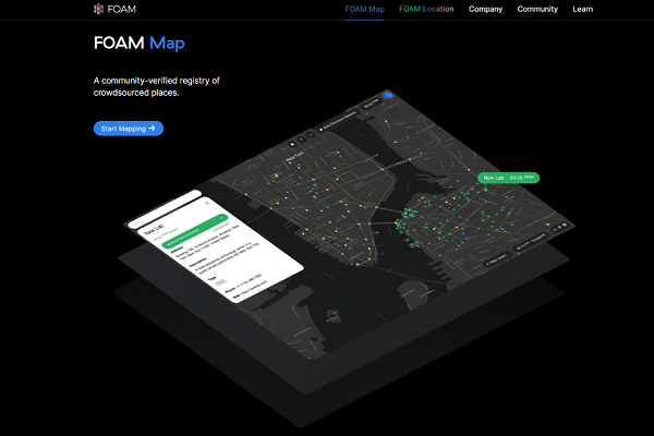 FOAM: Future of digital-maps, Google-map Killer ?
