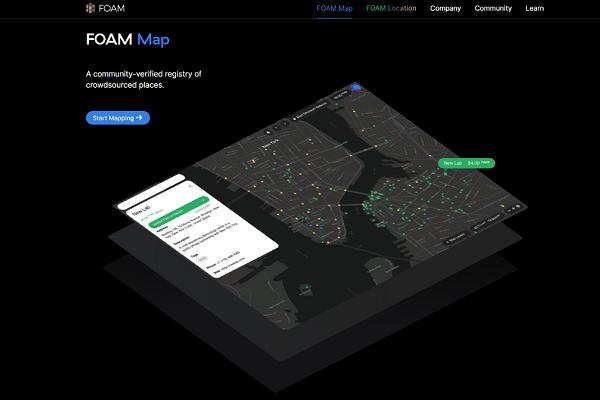 FOAM: Map of World on Blockchain, How it works?