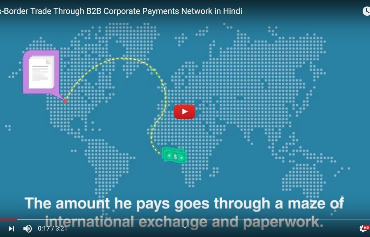 Cross-Border Trade Through B2B Corporate Payments Network in Hindi