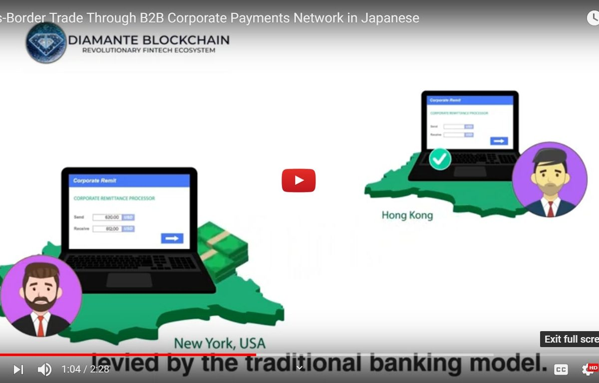 Cross-Border Trade Through B2B Corporate Payments Network in Japanese