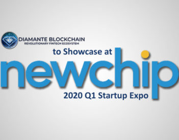 Diamante Blockchain To Showcase At Newchip's 2020 Q1 Startup Expo